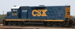 CSX 2276 sits in the yard