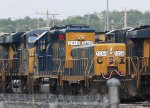 CSX 1058 has odd lettering on the end hood