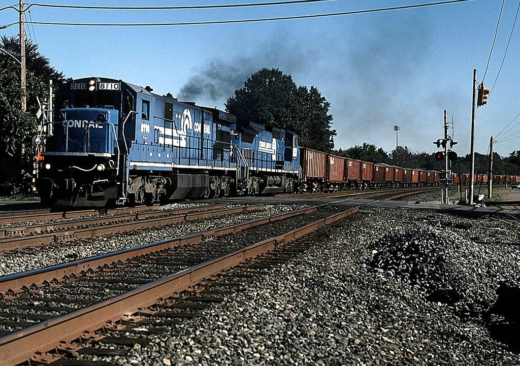 NS w/b ballast train