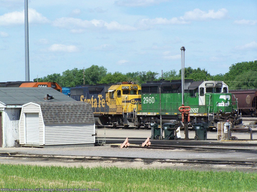 BNSF 2960 & Others