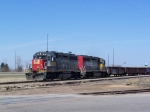 A Pair of ex-Southern Pacific Geeps Move Freight