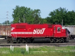 SOO 4450 Sits Quietly in the CP Yard
