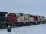 SOO 6039 & SOO 6028 Give a Hand to a CEFX Leaser on a Manifest Headed for the Twin Cities