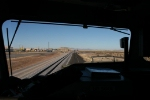 Sitting at a red in Lordsburg NM.