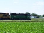 BNSF 8193 Leads Freight North to Minnesota