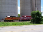 BNSF 819 & AGPX 6641 Rest on a Warm Summer Afternoon