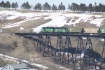 BNSF 2913 Heads up the Westbound Ray Local