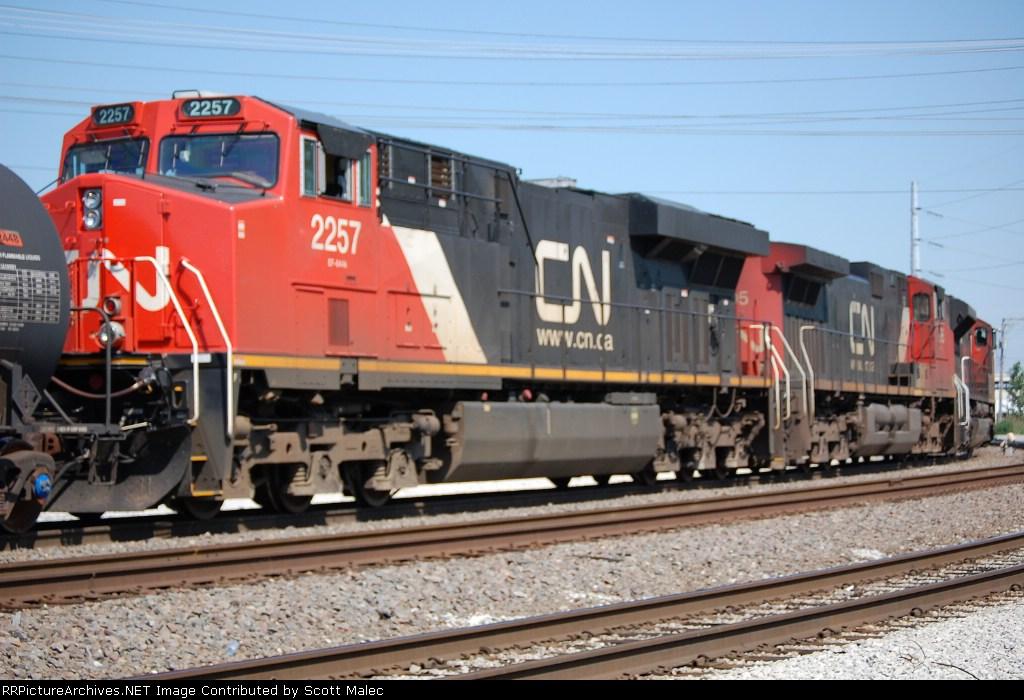 CN 8019, 2695 & 2257