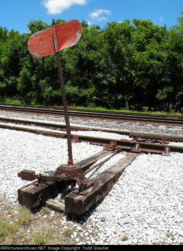 Switchstand at Weeping Water yard