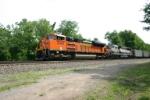 BNSF 9348 a bit blurred
