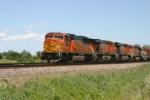 BNSF 8186 is only going as far as Galesburg today