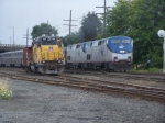 AMTK Coast Starlight, UP Geep, and an SP Caboose.