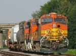 BNSF mixed freight