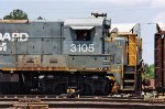 Former Seaboard System unit switching the yard.