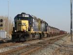 CSX 8444 leads Q500-30 westward