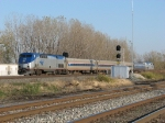 AMTK 28 & 199 power the Blue Water, 364, east past 499