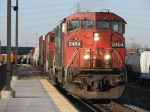 CN 2454 & 2654 start into the terminal with M336