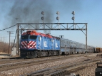 METX 205 & 213 smoke it up as they accelerate east