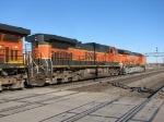 BNSF 1032 & 7496