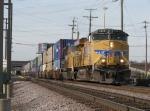 UP 5323 & 4962 lead stacks eastward