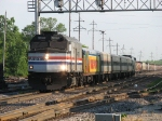 AMTK 90368 leads Hiawatha service train 330 southward at track speed