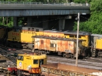 UP 6656 sits behind CNW 10935
