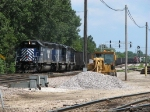 INRD's 3 leased MRL SD's head west with 891