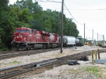 CP 8788 & 8507 pull out of the yard with 295