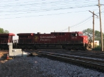 CP 9616 thumps across the CNW Northwest Line at Deval