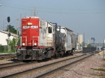 4415 heads east away from Bensenville Yard with the Southside Job
