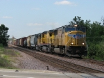 UP 4009 leading north with MPRBU