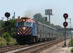 METX 209 leads an outbound