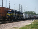 DME 6366 rolls east with MHUCC