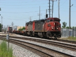 CN 2430 & 5419 roll through B-12 with A452