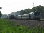 Amtrak'3 353 meets NS/CP train 32T
