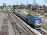 The Blue Water, train 365, heads west through CP502