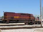 DMIR 417 awaits its fate as GTW 4918 sits by the shop