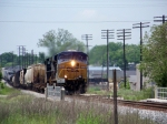 CSX 5414 nears the 6th street overpass 5/10/2008