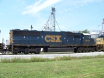 CSX 8660 is 2nd unit on Q525 South at Memphis Jct. 7/10/08