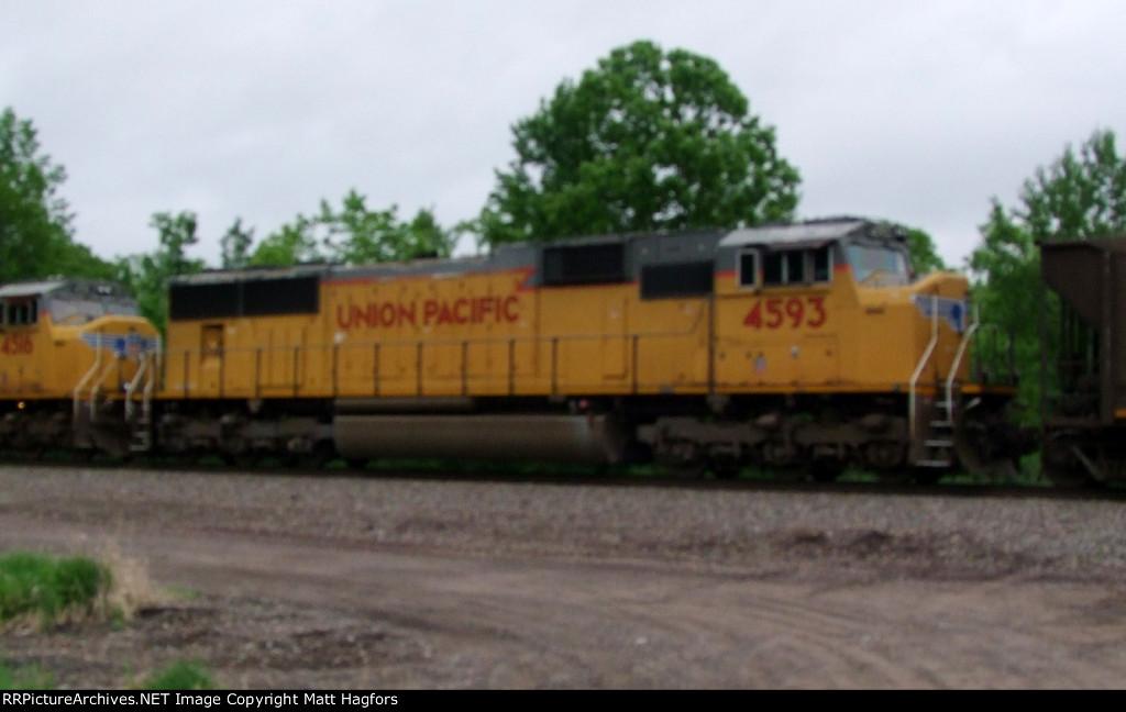 UP 4593
