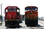 BNSF 7564 & GTW 4908