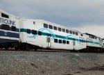 Metrolink Bombardier Car #187 in the New Scheme
