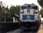 Metrolink 867 Departing Claremont