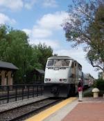 Metrolink 879 highballing Claremont
