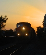 BNSF Pasadena Local with a GP60M Leading