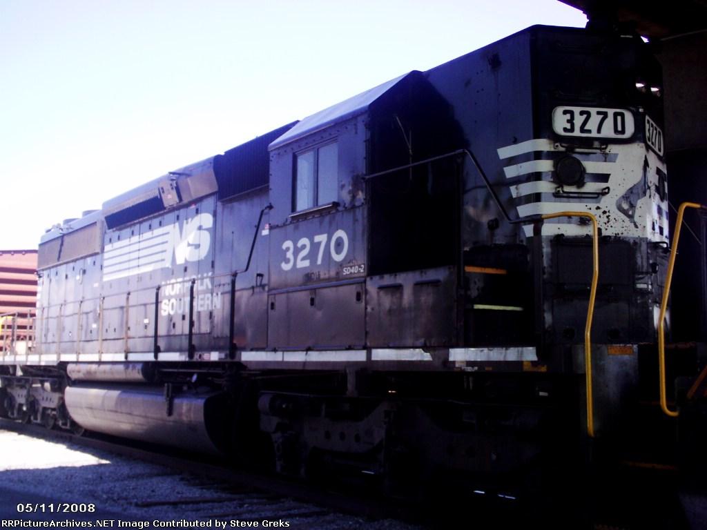 NS 3270 resting