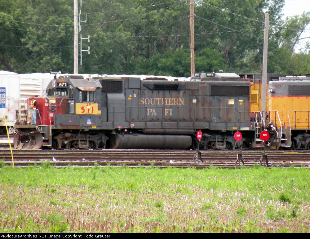 Ex-Southern Pacific w/ The Patch