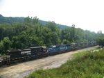Norfolk Southern 9379, 6741, 7525, 7631 and 6755