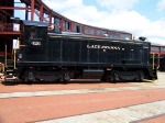 Delaware Lackawanna and Western 426 at Steamtown National Historic Site