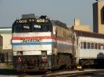 Amtrak 603 at Pennsylvania Railroad Museum